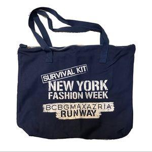 BCBG New York Fashion Week Promotional Tote NEW